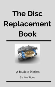 Disc replacement book cover